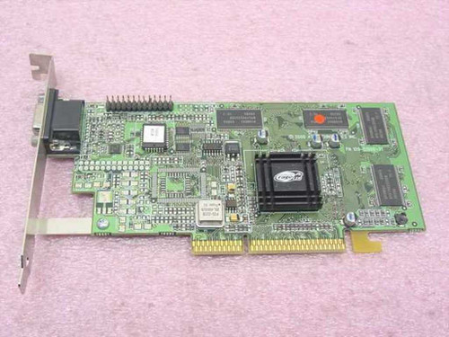 ATI 1025-63000 0081  AGP Video Card 16MB Rage 128