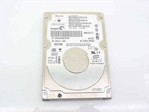 "Seagate ST94019A  40.0GB 2.5"" 9.5mm 4200 RPM Laptop Hard Drive"