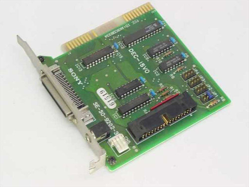 Sony SE-SO-9202-3  Sony ISA Controller Card