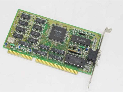 Trident JAX-8212B V1  ISA Video Card