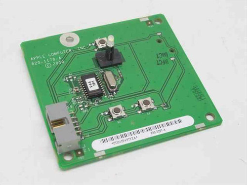 Apple 820-1178-A  G4 Graphite Power Reset Button Board