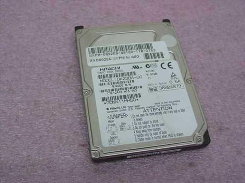 Hitachi DK23BA-60  6.0GB Laptop Hard Drive