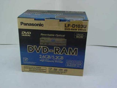 Panasonic LF-D103U  Rewritable Optical DVD-RAM 2.6GB/5.2GB