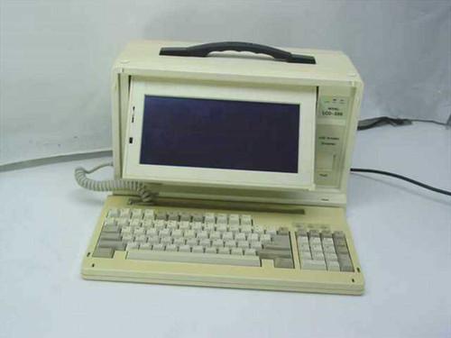 Vintage LCD-286  80386 Vintage LunchBox Portable computer ISA