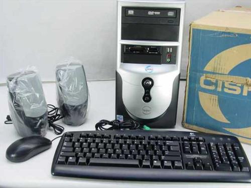 Cisnet CI33-C61  P4 2.66 GHz 256 MB 80GB DVD-RW Desktop PC