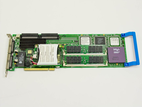 American Megatrends PCI 32MB SCSI Dual Channel Raid Controller Card