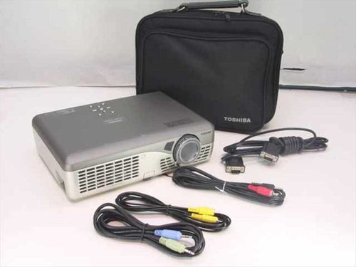 Toshiba TLP-S30  3 LCD Data Projector No Lamp 1400 Lumen