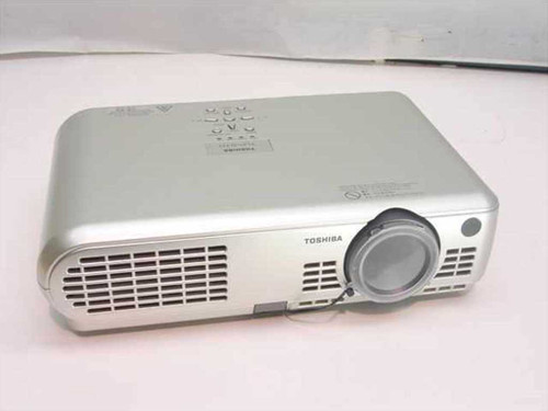 Toshiba TLP-S10  3 LCD Data Projector No Lamp 1200 Lumen