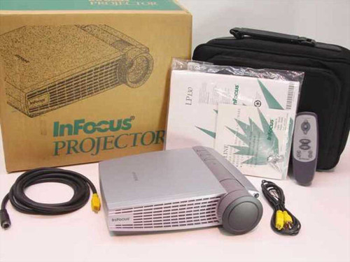 InFocus LP130  LCD Digital Projector w/out Lamp or Comp. Cord