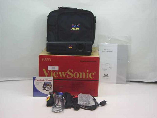 Viewsonic PJ551  Micro-Portable Projector Boxed w/o lamp