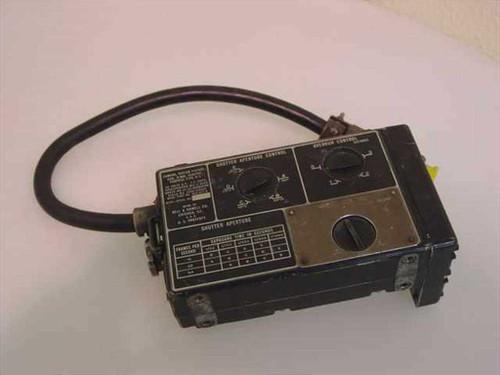 Perkin-Elmer DES-917-A  Shutter Aperture 16mm Gun Camera