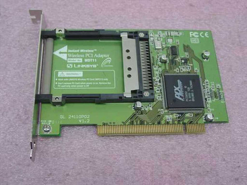 Linksys WDT11  Wireless PCI Adapter