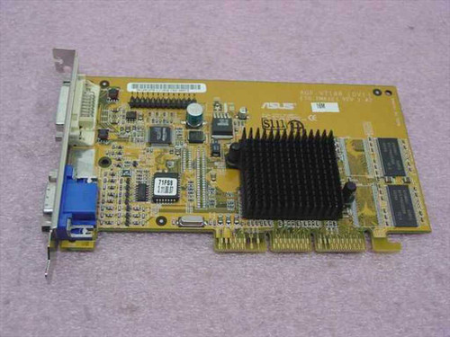 ASUS AGP-V7100 (DVI)  AGP Video Card 32 MB SDRAM from Sony Vaio PCV-RX
