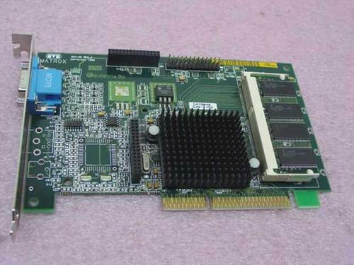 Matrox G2&/MSDA/8BN/20  AGP Video Card 15-Pin - Matrox Millennium G200