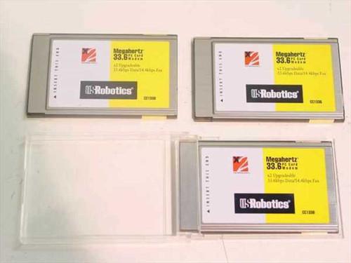 US Robotics  33.6 PCMCIA Modem NO CABLE  CC1336