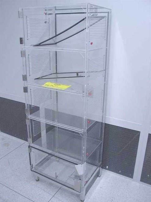 Plexiglas 5 Bay  Dry Box with Stand - As Is For Parts - Missing ~!