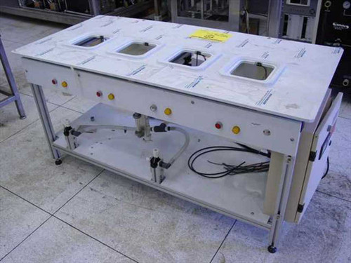 AMT C-Lap 575824  Cleanroom Wet Bench Four Tanks Controller ~!