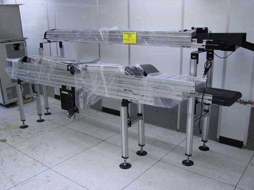 "Dorner 3100  12"" x 42' & 5"" x 19' Electric Conveyor System"