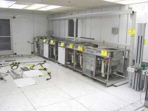 Branson Ultrasonics Benchmark  7 Station Benchmark Ultrasonic Cleaning System