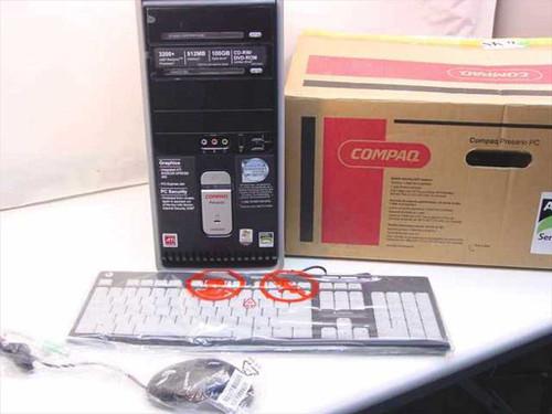 Compaq ER912AA ABA  Presario SR1810NX SEMP 1.8 GHz 512 MB 100 GB