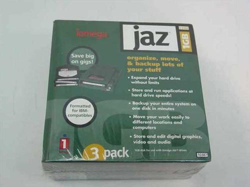 Jaz 10387  Iomega 1GB disk (3 pack)