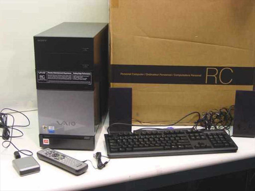Sony VGC-RC110G  Vaio Pent. D 2.8GHz 512MB 200GB DVD-RW PC