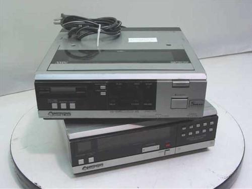 Hitachi VT-7A and VT-TU7A  5 Head Portable Video Cassette Recorder and Tuner
