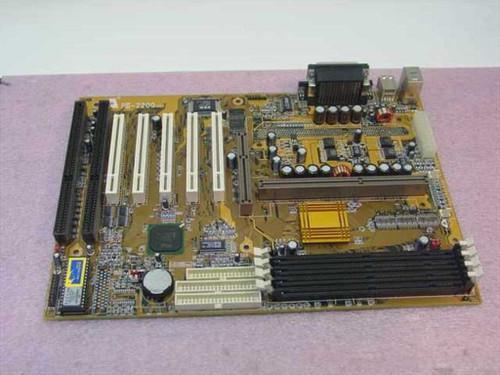 Amptron PII-2200  Slot 1 System Board