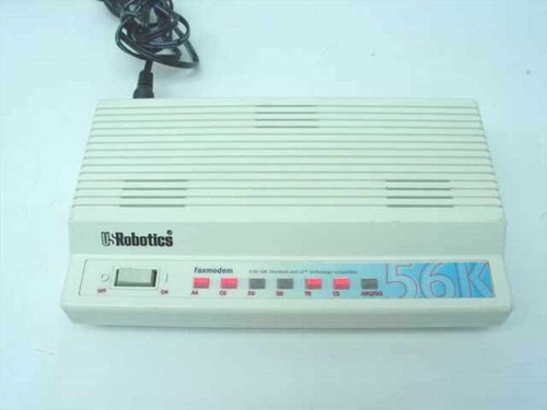 US Robotics USR5686D  56K External Fax Modem V. 92 and x2