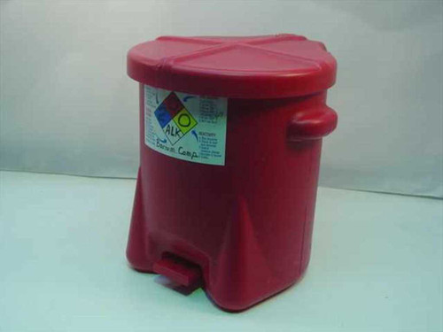 Generic Red  Biohazard Waste Can