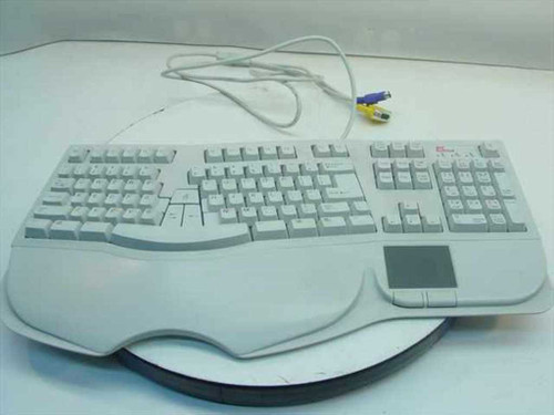 PC Concepts KK60TPC18U  PS/2 Keyboard Serial Mouse Pad - SK-6000