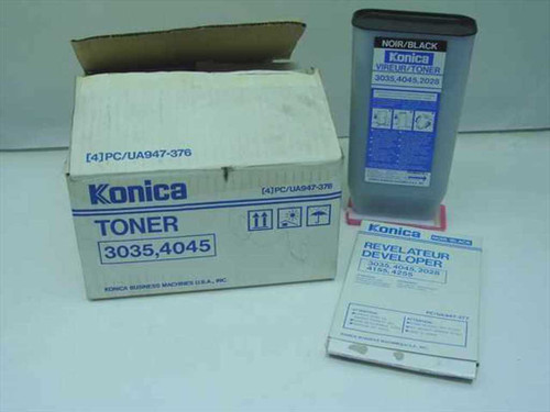 Konica 3035,4045,2028  Toner and Developer