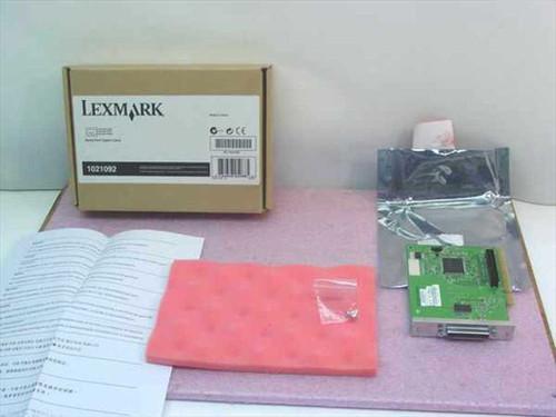 Lexmark 1021092  RS-232C Serial Interface Card ROHS 4Q