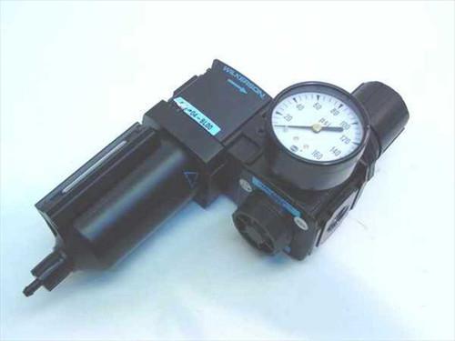 Wilkerson R18-04-F000  Modular Air Line Regulator with W/Manual Drain
