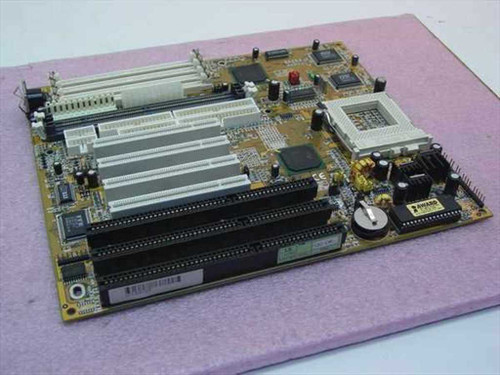 Pentium Socket 7  System Board 3 ISA 4 PCI Slots AT Style