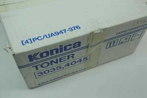 Konica PC/UA947-376  4 Genuine Toner Cartridges PC/UA947-3