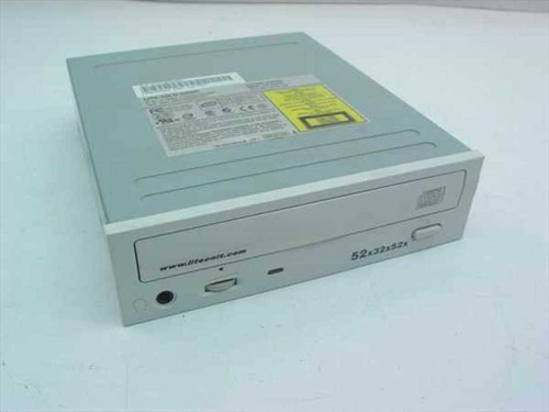 Lite-On LTR-52327S  CD-RW IDE Internal 52x32x52 White Face