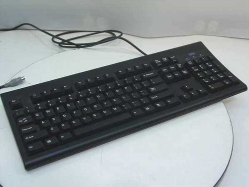 IBM 76H3284  PS/2 Keyboard Black - KB-8923