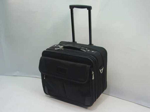 Generic Black  Soft Laptop Case With Wheels