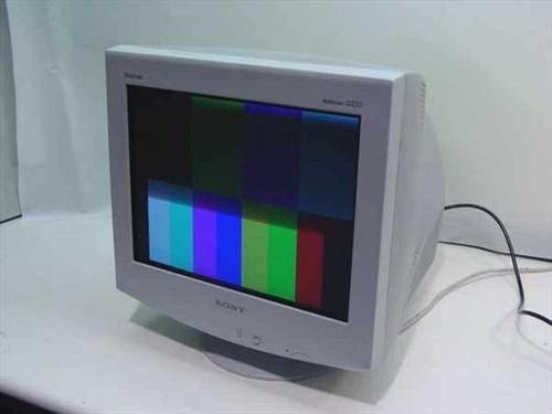 "Sony CPD-G220R  17"" Flat Screen Monitor"