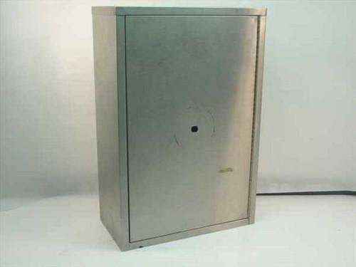 USP United Security   Double Door Stainless Steel Cabinet