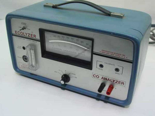Energetics Science Inc. 2000  Carbon Monoxide Monitor - Ecolyzer