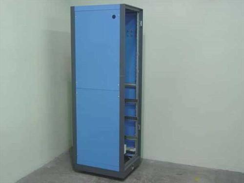 Aluminum 46U Enclosure  Aluminum 46U Rackmount Enclosure Cabinet w/Casto