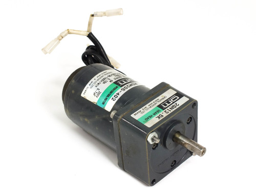 Oriental Motor MSM206-402 Speed Control Motor with 2GN12.5K Gear Head