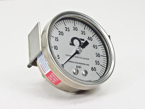 Omega Engineering General Service  Pressure Gauge