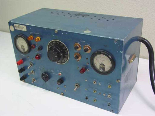 Military Home built  Test Unit with a Variac