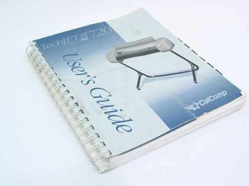 CalComp TechJet Designer 720  Plotter User's Guide - Manual - P/N MOO22-050