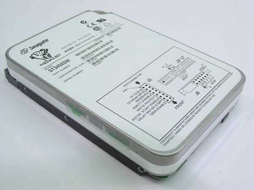 "Seagate ST34520W  4.5GB 3.5"" SCSI Hard Drive 68 Pin"