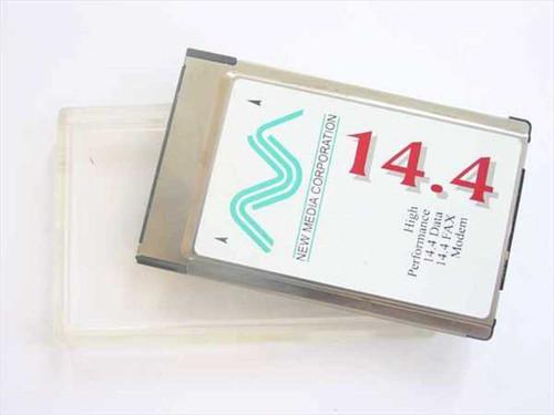 New Media  14.4 Dat/Fax Modem Card  14.4