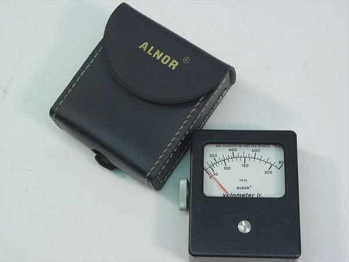 Alnor 8100-8  Velometer Jr Air Velocity Meter in Case 200-800 Ra